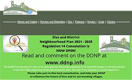 Diss & District Neighbourhood Plan reaches its Regulation 14 Consultation!
