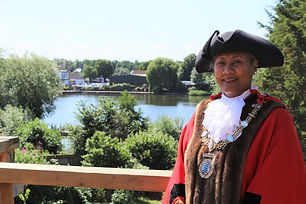 Picture of DIss Town Mayor