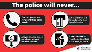Stop the South Norfolk police scammers
