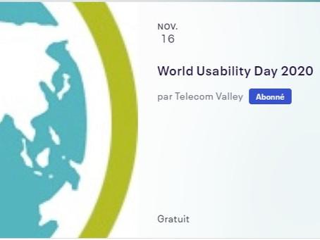 SmartEnseigno est présent lors la Journée Mondiale de l'Usabilité (WUD)
