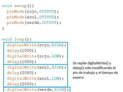 MBlock 5 a Código Arduino - Procedimientos y Ciclo for