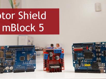 Cómo Programar en mBlock 5 Motor Shield L298N y L298P