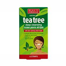 Beauty Formulas Tea Tree Nose Pore Strips