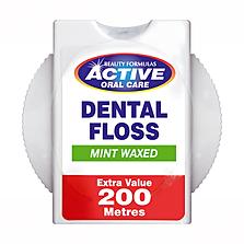 Beauty Formulas Active Extra Value 200M Waxed Dental Floss