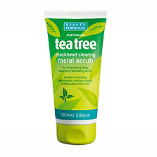 Beauty Formulas Tea Tree Scrub