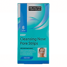 Beauty Formulas Clear Skin Deep Cleansing Nose Pore Strips