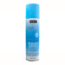Beauty Formulas Odour Control Foot Spray