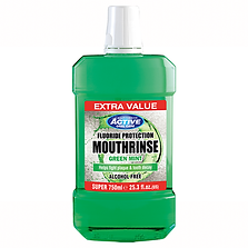 Beauty Formulas Active Extra Value Green Mint Mouth Rinse