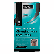 Beauty Formulas Clear Skin Charcoal Nose Pore Strips