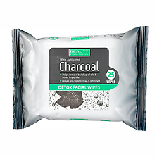 Beauty Formulas Charcoal Face Wipes