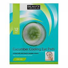 Beauty Formulas Cucumber Eye Pads