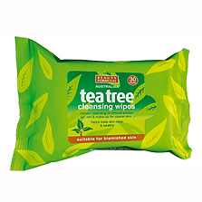 Beauty Formulas Tea Tree Cleansing Wipes