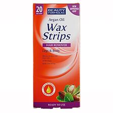 Argan Oil Wax Strips