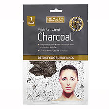 Beauty Formulas Charcoal Bubble Mask