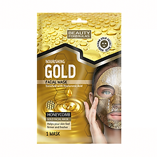 Beauty Formulas Gold Honeycomb Sheet Mas