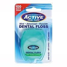 Beauty Formulas Active Mint Fluoride Floss