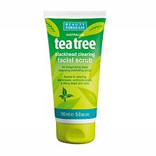 Beauty Formulas Tea Tree Face Scrub