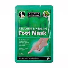 Beauty Formulas Apple & Shea Butter Foot Mask