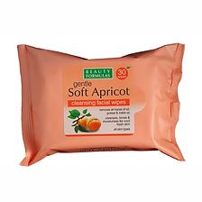 Beauty Formulas Soft Apricot Face Wipes.