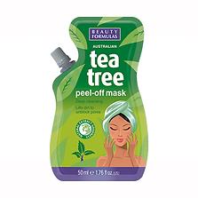 Beauty Formulas Tea Tree Peel-Off Mask