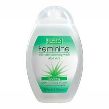Beauty Formulas Intimate Wash Aloe Vera.