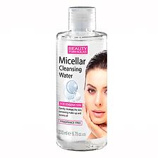 Beauty Formulas Micellar Cleansing Water