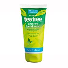 Beauty Formulas Tea Tree Exfoliating Face Wash
