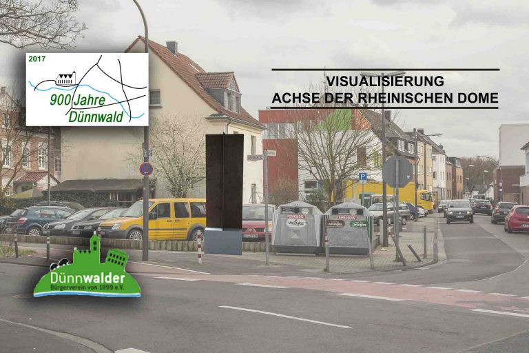 DBV - Projekte - Stele - Karte - Standor