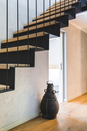stairwell leading to the kids room