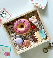'Dessert but not really Dessert' Box
