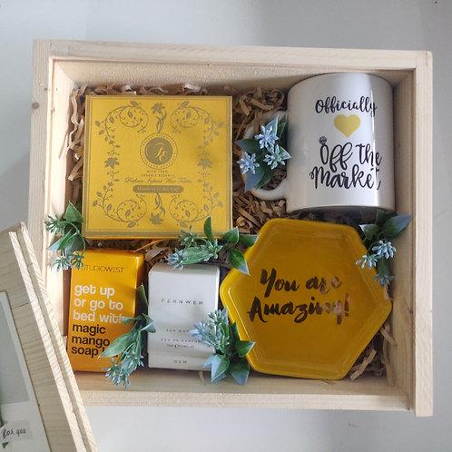 Yellow Love Gift Box