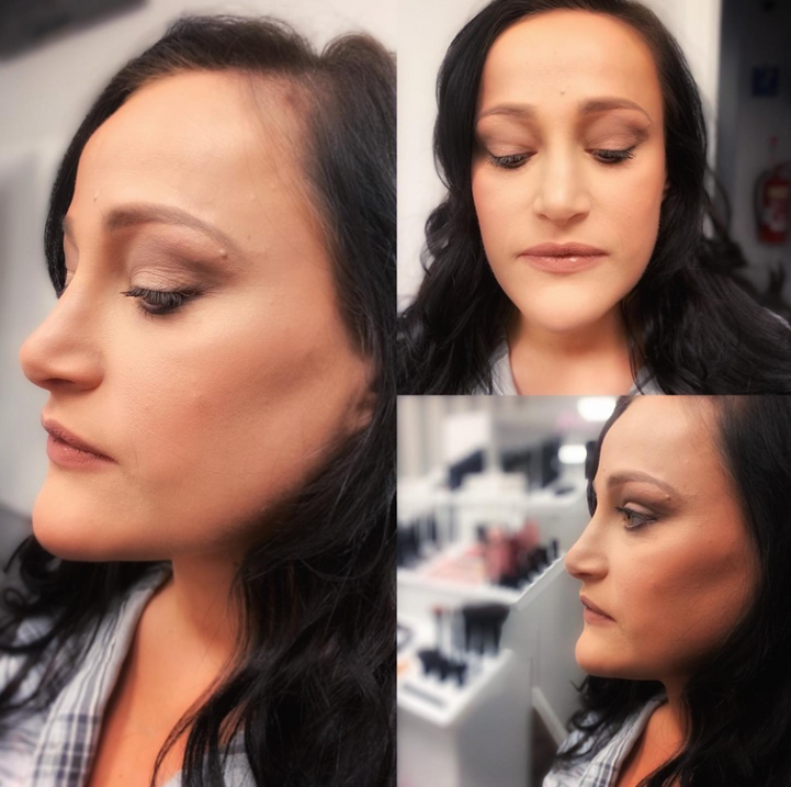 Make-up application