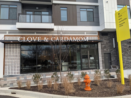 Clove & Cardamom MAY open this Friday! Here's the Menu