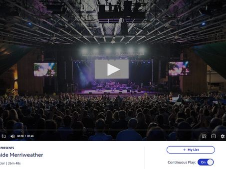 Check out this amazing Merriweather Post Pavilion Documentary