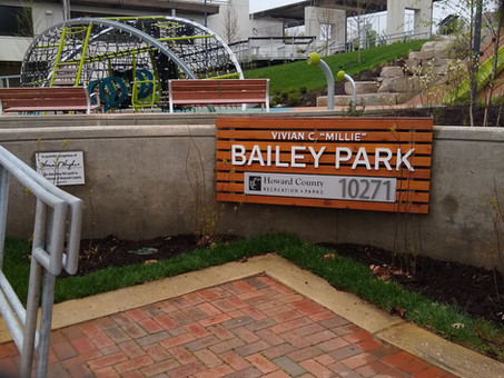 New Millie Bailey Park next to Whole Foods Opens tomorrow October 22 with official Ribbon Cutting!