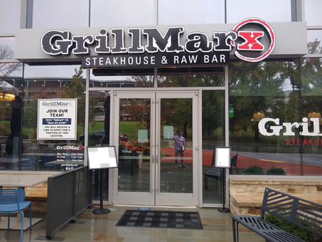 GrillMarx - Now Open at the Lakefront (all details including photos, menu, hours, etc.)