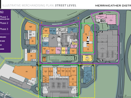 Revisiting the retail plan for The Merriweather District - 1 year since the last tenant announcement