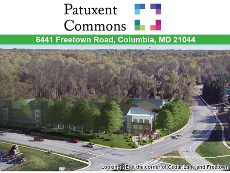 Patuxent Commons: New Mixed-Income Community Proposed for Cedar Lane and Freetown Road