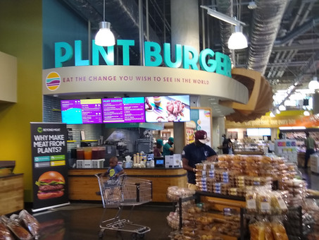 Fast-Casual vegan PLNT Burger now open inside Whole Foods in Columbia