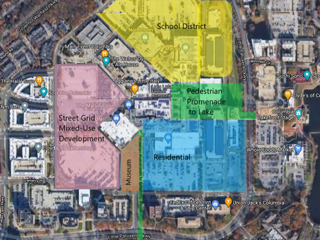 Crystal Ball: Reimagining the Future Site of the Mall in Columbia