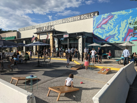 Walrus Roadside Stand opens at The Mall in Columbia