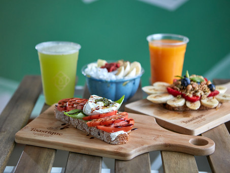 Gourmet Toast and Juice Bar Toastique leases space in Color Burst Park