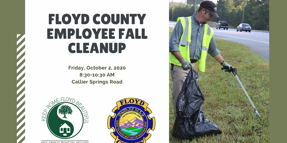Floyd County Employee Fall Cleanup