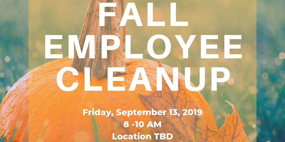 Floyd County Fall Employee Cleanup