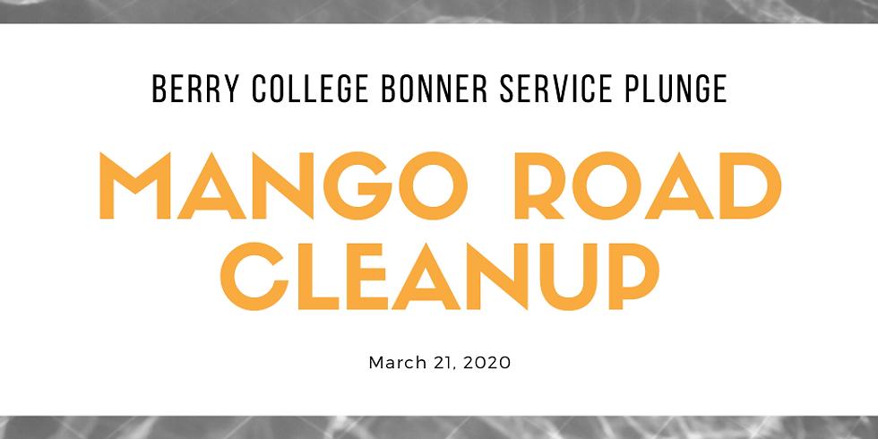 Bonner Service Plunge Mango Road Cleanup
