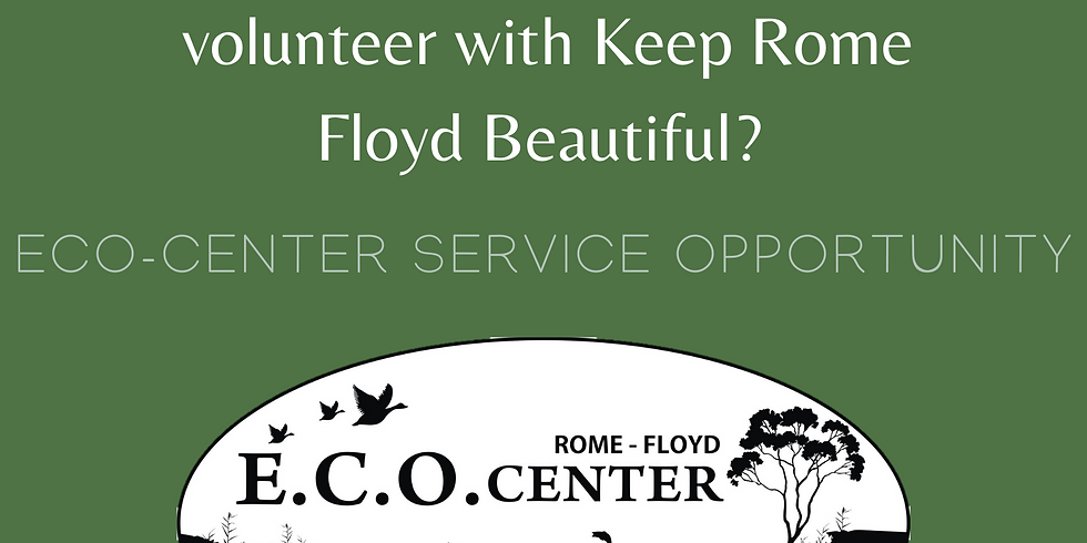 Summer Service: ECO Center