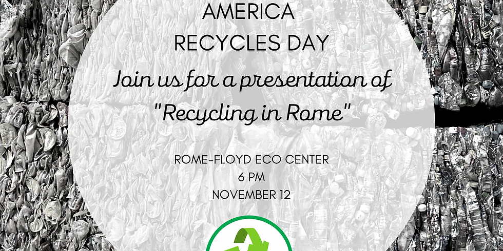 Recycling in Rome