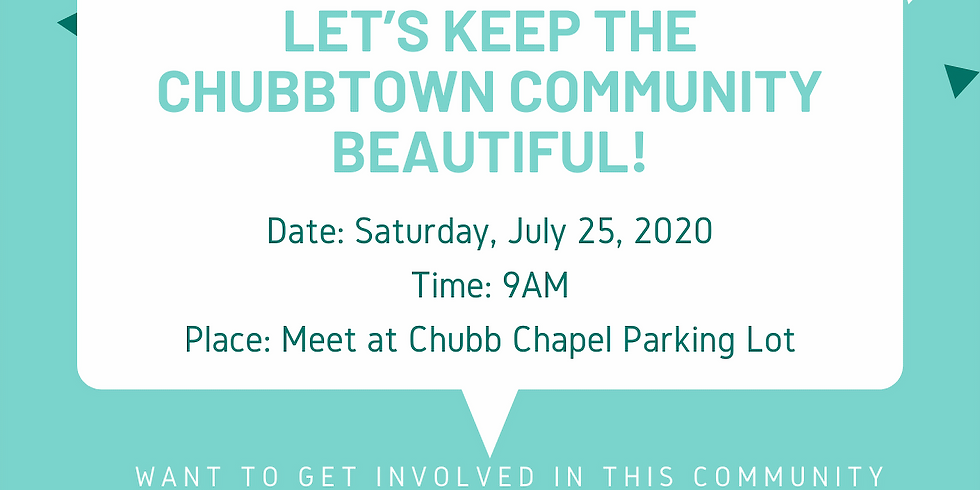 Chubbtown Community Cleanup