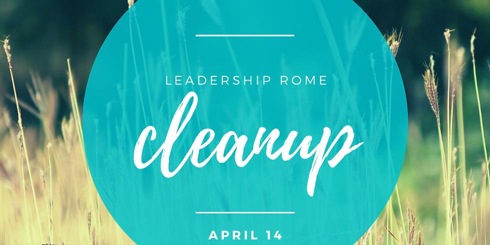 Leadership Rome XXXVII Cleanup