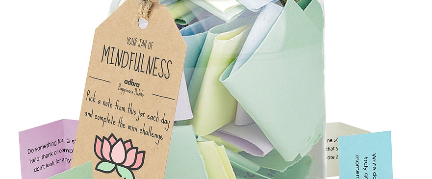 Happiness Habits Jar   100 days of inspiration
